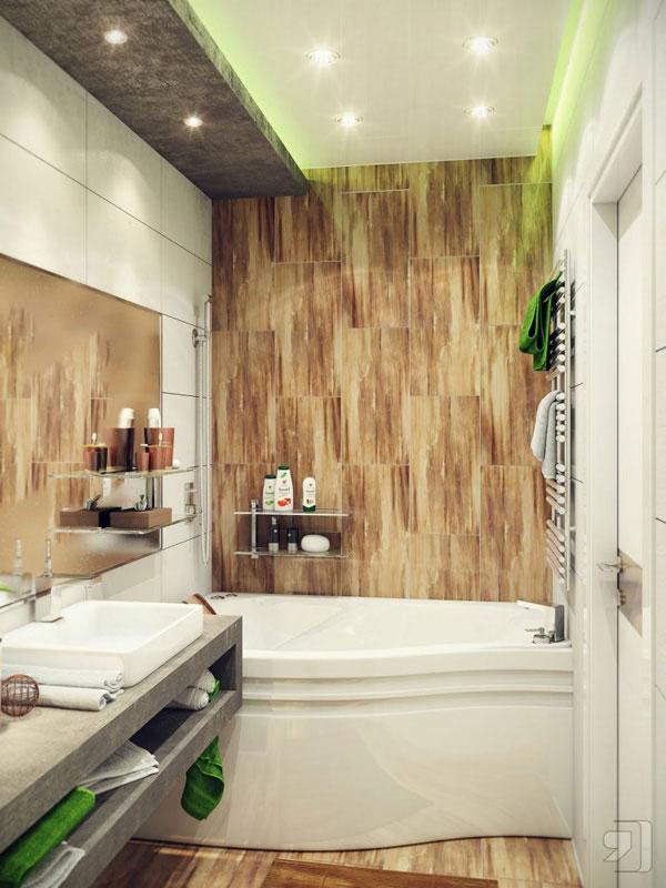 iluminación baños modernos