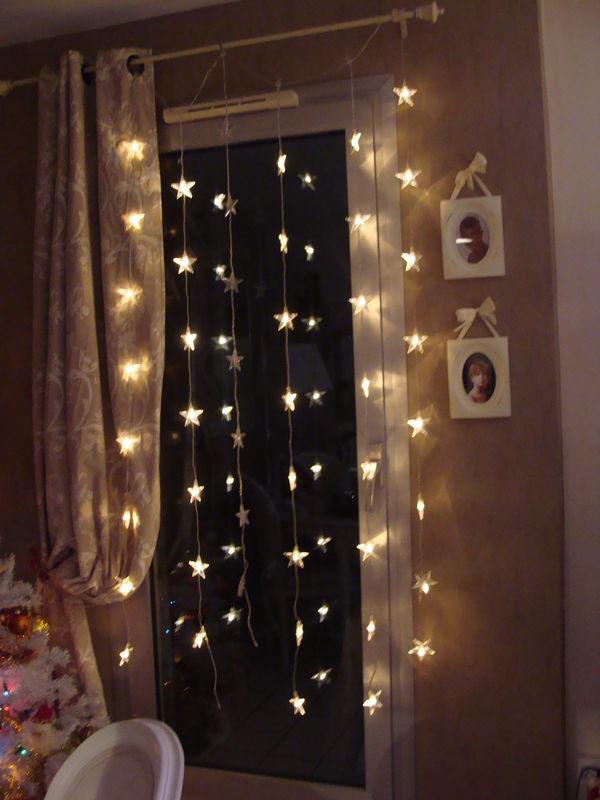 Luces cortinas navidad hoy lowcost - Habitaciones con luces ...