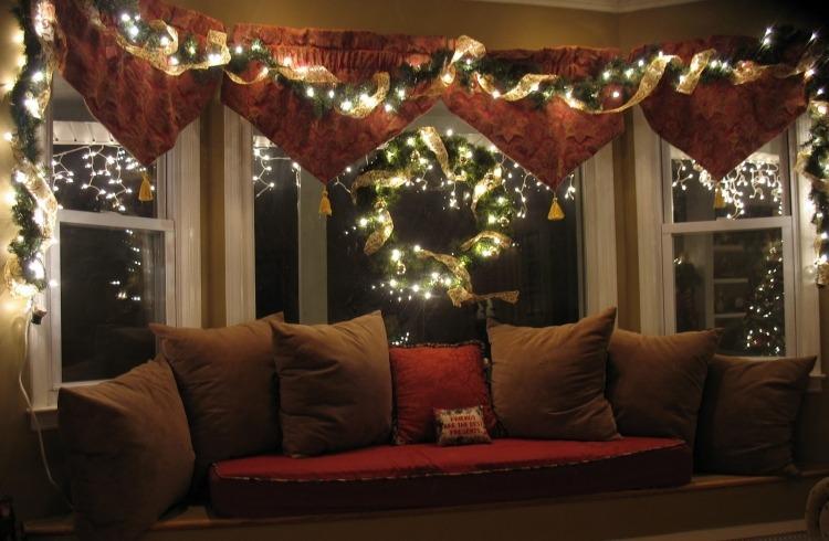 luces para ventanas navidad