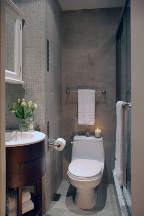 decoración baños irregulares