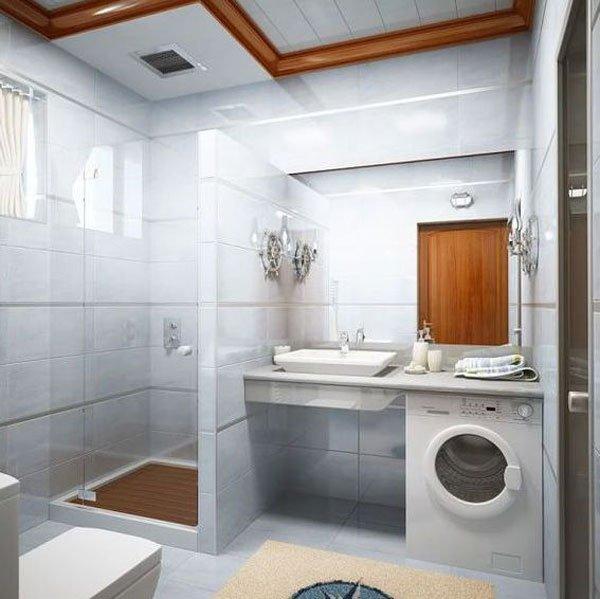 distribución baños pisos pequeños