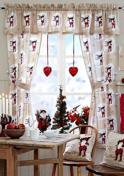 Ideas para decorar cortinas en navidad 2016 for Novedades en cortinas 2016