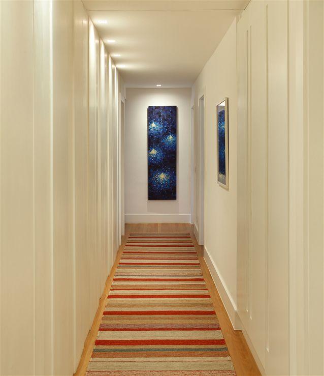 Ideas decoracion de pasillos con efecto acogedor hoy lowcost - Como pintar el pasillo ...