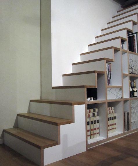aprovechamiento bajo escaleras