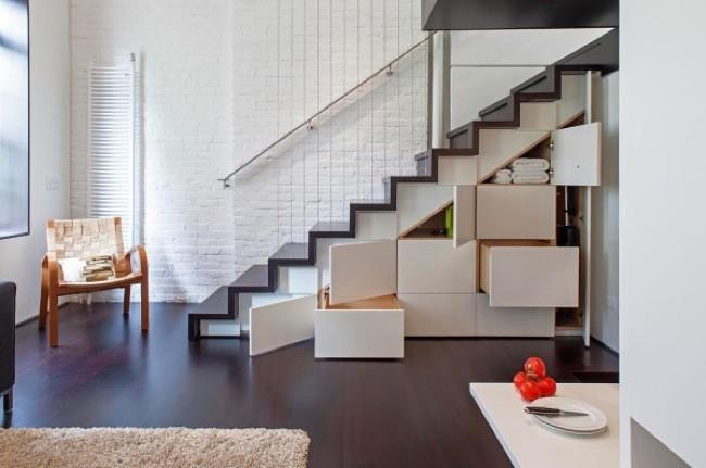 armario empotrado bajo escalera