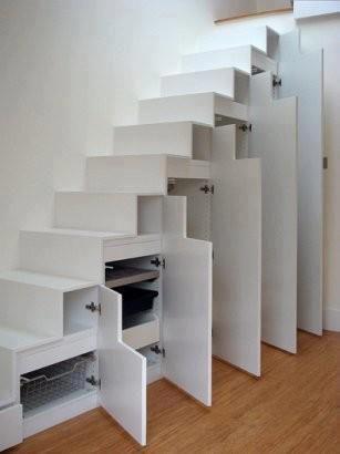armarios a medida bajo escaleras