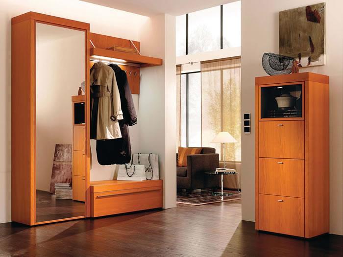 Muebles de recibidor y pasillo pr cticos y modernos hoy - Armario para recibidor ...
