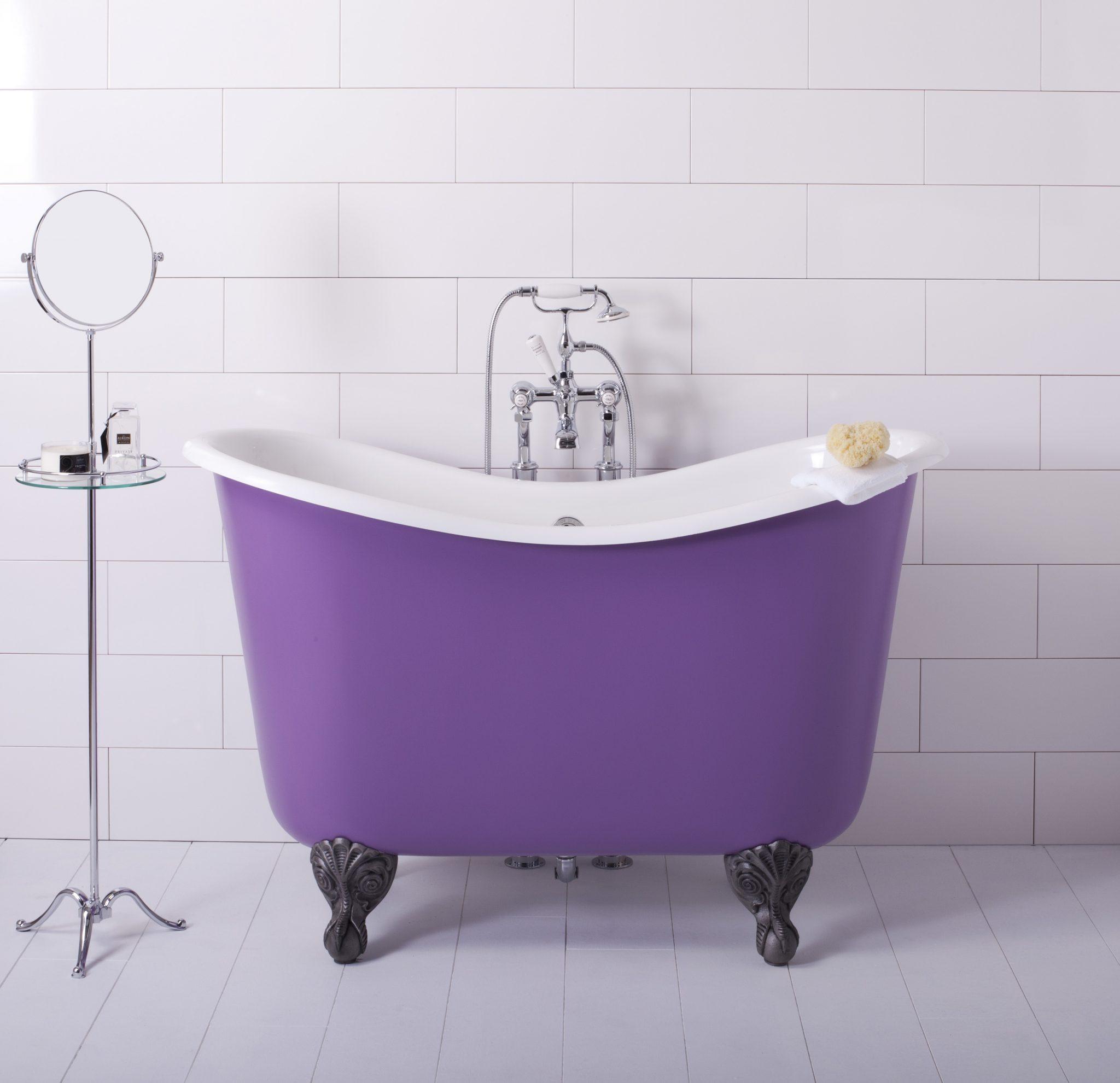 bañeras modernas y pequeñas