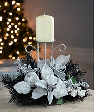 2016 adornos de navidad hechos a mano centros de mesa