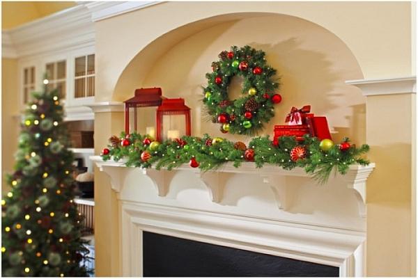 Decoracion para navidad 2016 consejos y trucos - Chimeneas para decorar ...