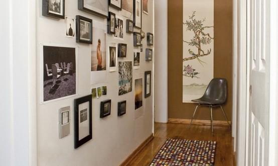 Como decorar pasillo moderno hoy lowcost - Como decorar pasillos estrechos ...