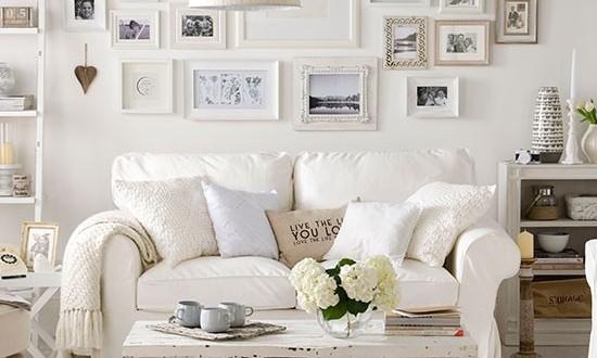 Decoracion ambientes en blanco hoy lowcost for Decorador de interiores