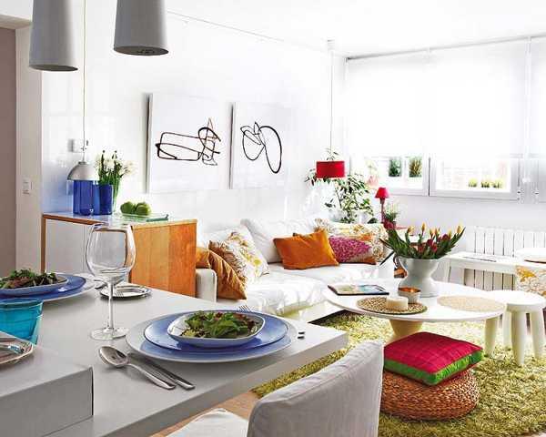 decoracion colores salas pequeñas