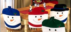 Adornos de Navidad hechos a mano: Sillas decoradas
