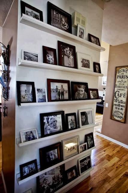 decorar pasillos con fotografias