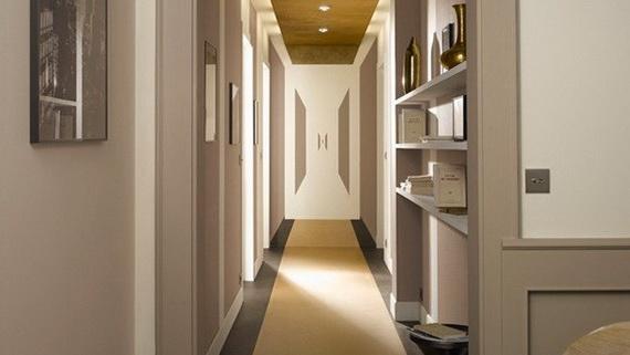 decorar pasillos largos