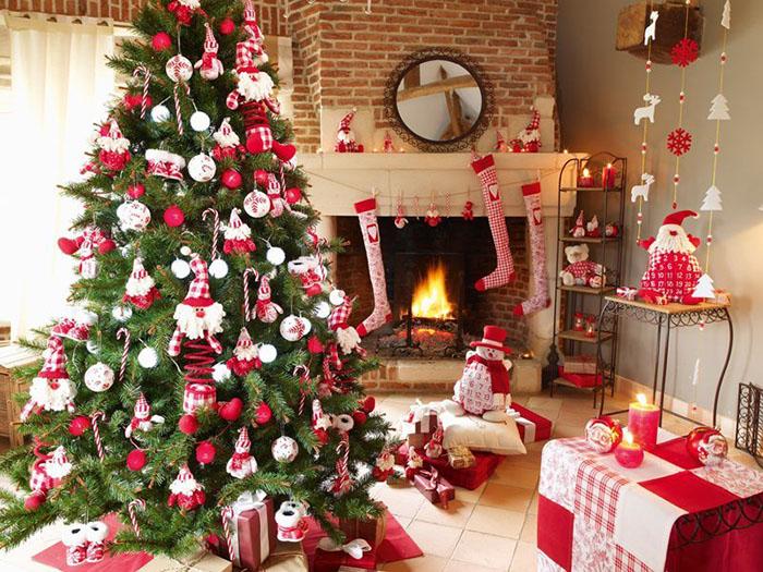 decorar-salones-en-navidad
