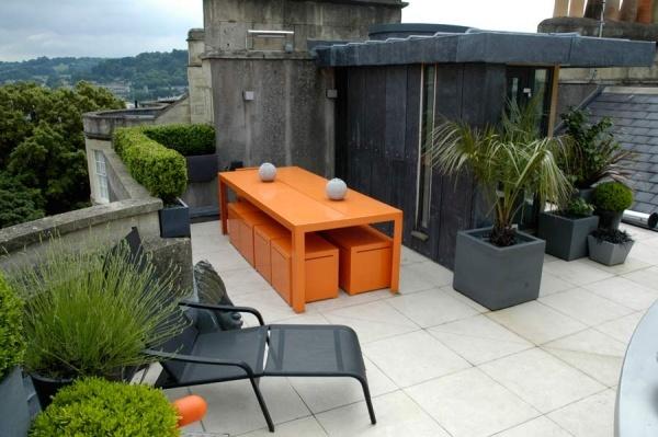 decorar terraza miniñalista