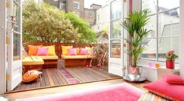 Decorar terrazas con muebles hoy lowcost for Muebles terraza diseno