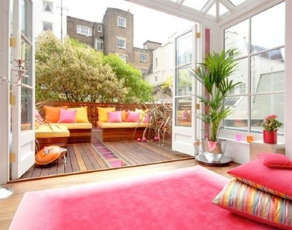 decorar terrazas con muebles