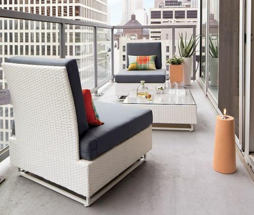diseño muebles de balcones
