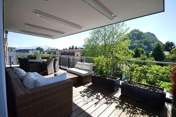 diseño terrazas con toldo