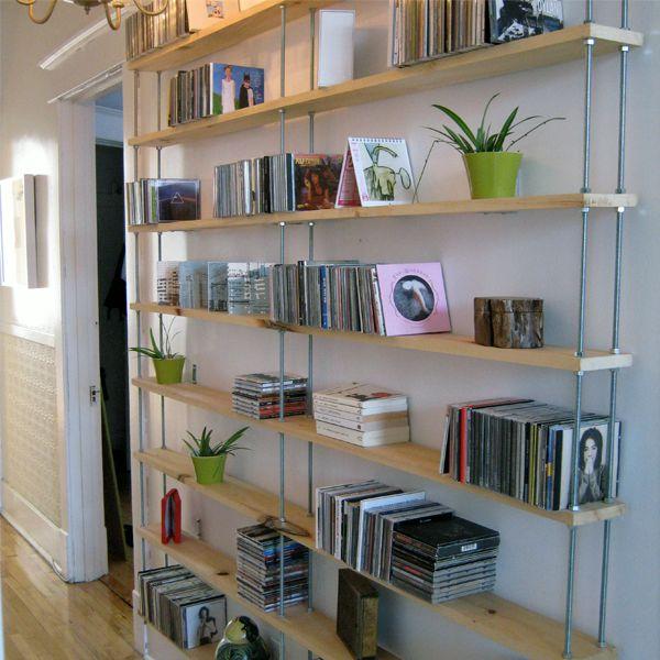 estanteria para decorar pasillos
