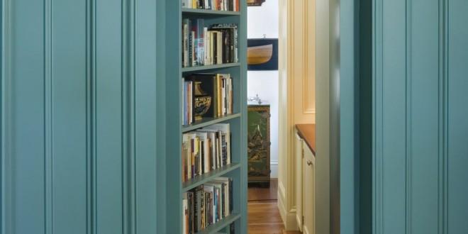 Idea puerta oculta con libreria hoy lowcost for Decorador de interiores
