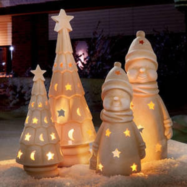 iluminacion exterior de navidad
