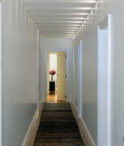 iluminacion para pasillos largos y estrechos