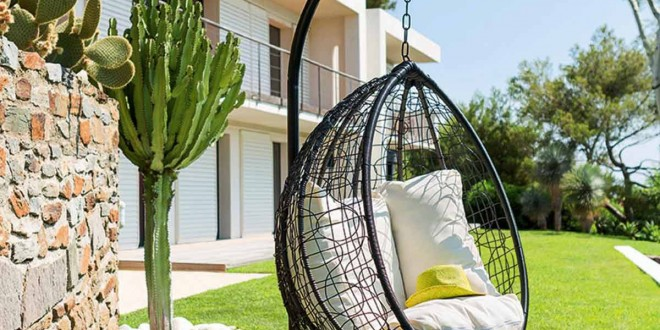 Mobiliario jardin 2016 sillon colgante hoy lowcost - Sillon colgante jardin ...