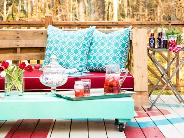 muebles jadin baratos con cojines