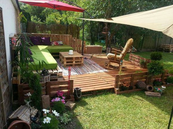 muebles jardin baratos palets