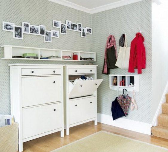 Muebles de recibidor y pasillo pr cticos y modernos hoy - Muebles para la entrada ikea ...