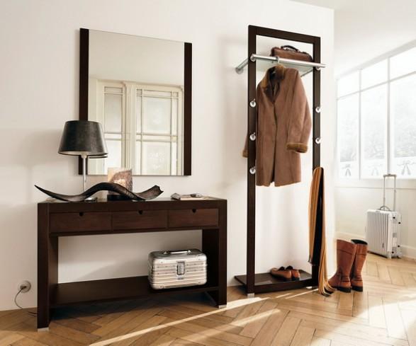 muebles para recibidor perchero