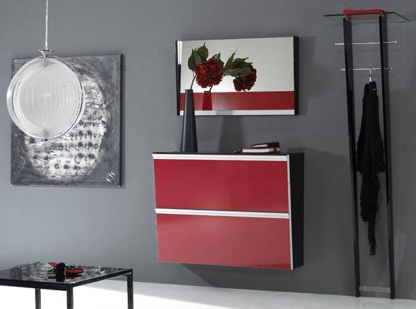 muebles recibidor minimalista