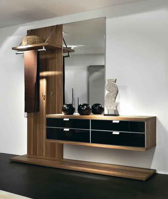 Muebles de recibidor y pasillo pr cticos y modernos hoy - Mueble recibidor moderno ...