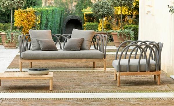 Dise o de jardines 6 pasos fundamentales hoy lowcost for Muebles de exterior modernos