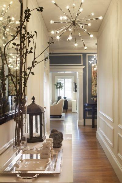Ideas decoracion de pasillos con efecto acogedor hoy lowcost - Como decorar un pasillo estrecho y oscuro ...