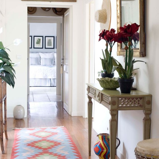 Ideas decoracion de pasillos con efecto acogedor hoy lowcost - Espejos para pasillos ...
