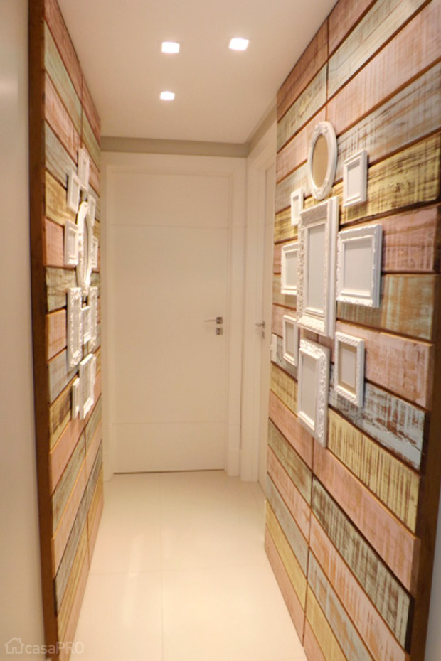 pasillos en madera
