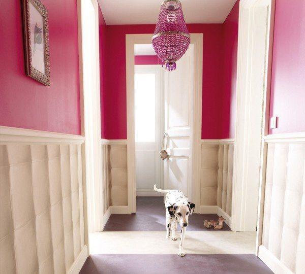 pasillos en rosa
