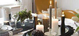 2016 Adornos de Navidad hechos a mano: centros de mesa