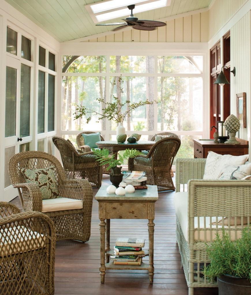terrazas cerradas para salas de estar