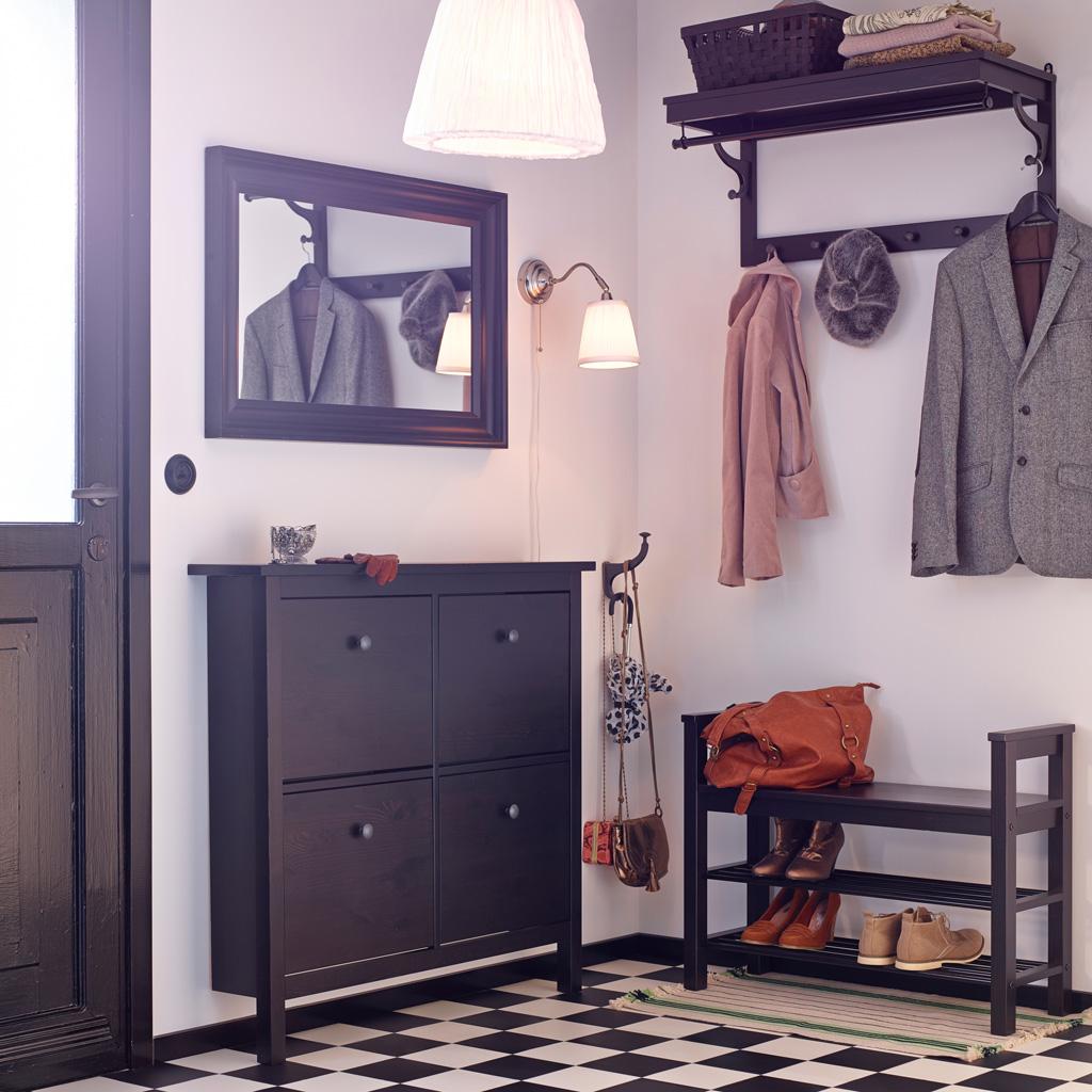 Muebles de recibidor y pasillo pr cticos y modernos hoy lowcost - Zapatero de pared ...