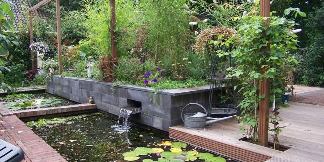 Decoracion jardines con agua hoy lowcost - Decoracion jardines exteriores ...