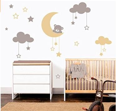 Decorar habitaci n beb ltimas tendencias hoy lowcost for Habitacion bebe con vinilos
