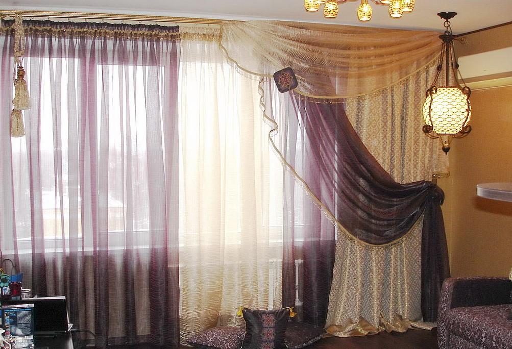 Cortinas para ventanas y su protagonismo hoy lowcost - Formas de cortinas ...