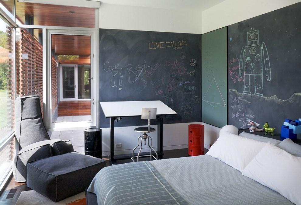 Pintura de pizarra usos e ideas originales hoy lowcost - Pintura paredes colores ...