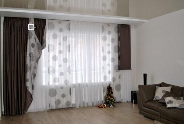 combinar paneles japones y cortinas